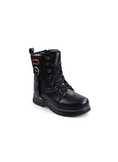 Pandora K20.Gmf7055 Siyah Kız Çocuk Günlük Postal Bot Siyah